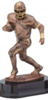 Football Runner Sculpture